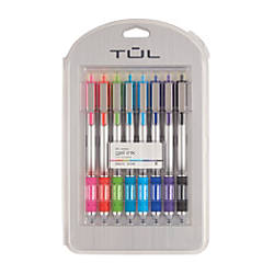 TUL Retractable Gel Pens Bullet Point
