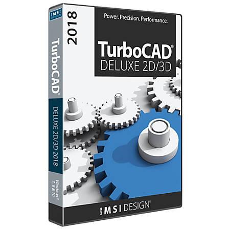TurboCAD Deluxe 2018, Download Version
