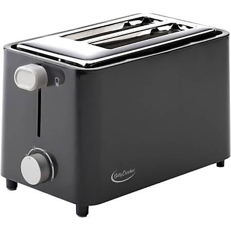 Betty Crocker BC-2605CB 2-Slice Toaster - Black