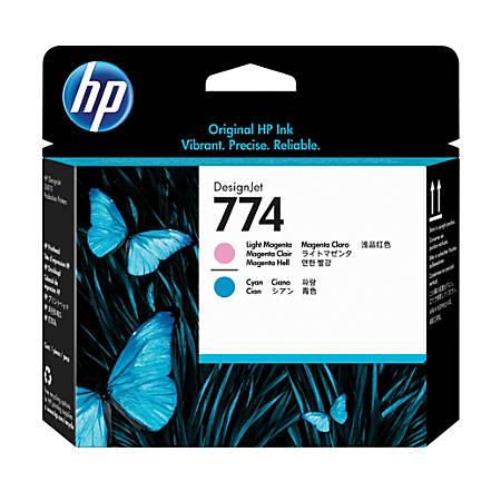 HP Designjet 774 Light Magenta/Light Cyan Printhead (P2V98A)