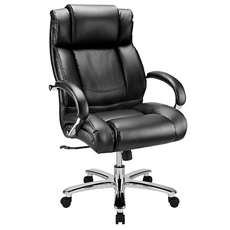 WorkPro® 15000 Series Big & Tall High-Back Chair, Black/Silver