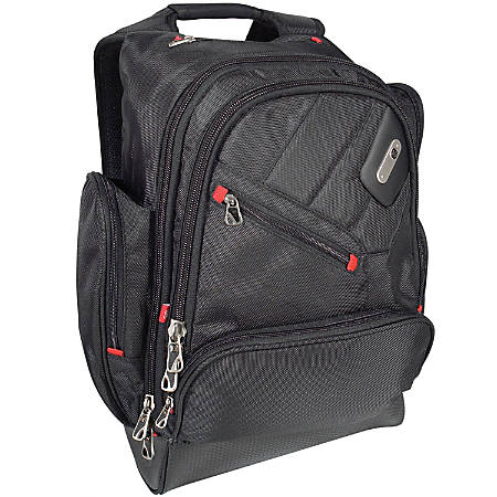 """ful Refugee Backpack With 15"""" Laptop Pocket, Black"""