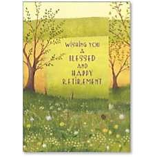 Viabella Blessed Retirement Greeting Card 5