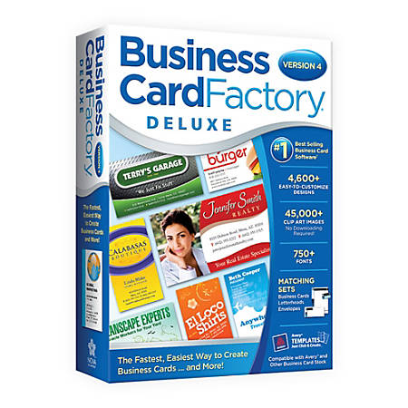 Business Card Factory Deluxe 4, Disc