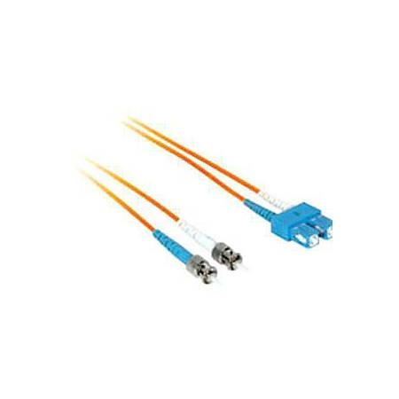 C2G-6m SC-ST 50/125 OM2 Duplex Multimode Fiber Optic Cable (Plenum-Rated) - Orange - Fiber Optic for Network Device - SC Male - ST Male - 50/125 - Duplex Multimode - OM2 - Plenum-Rated - 6m - Orange