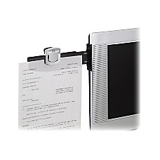 3M Monitor Mount Dual Document Clip