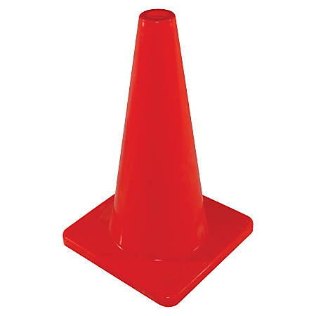 """Impact Products Safety Cones, 18""""H, Orange"""