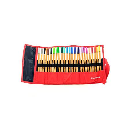 Stabilo Point 88 Pens, Rollerset, Set Of 25 Pens