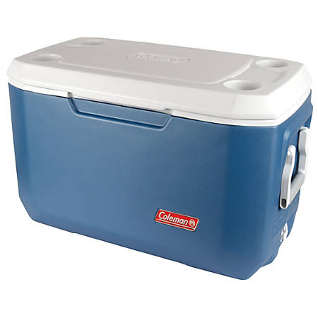 "Coleman® Xtreme™ 70-Quart/100-Can Cooler, 18""H x 28 3/8""W x 15 3/4""D, Blue"