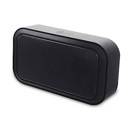 "BYTECH Rytham Bluetooth® Speaker, 5""H x 3""W x 6""D, Black, BCAUBS153BK"