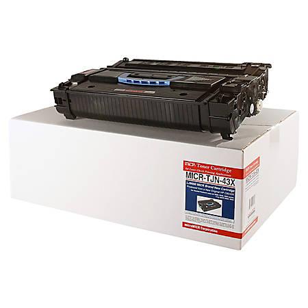 MicroMICR TJN-43X (HP C8543X) Black MICR Toner Cartridge