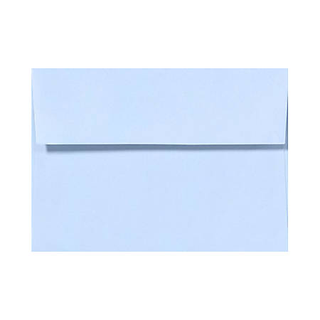 """LUX Invitation Envelopes With Peel & Press Closure, A1, 3 5/8"""" x 5 1/8"""", Baby Blue, Pack Of 1,000"""