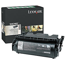 Lexmark 12A7462 Return Program High Yield