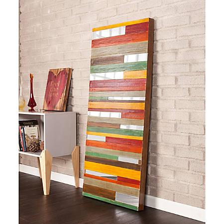 "Holly & Martin Swice Wall Art, 55""H x 23 3/4""W x 2 3/4""D, Multicolor"