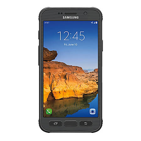 Samsung Galaxy S7 Active G891A Refurbished Cell Phone, Gold, PSC100743