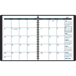 at a glance academic monthly planner 6 78 x 8 34 32percent recycled