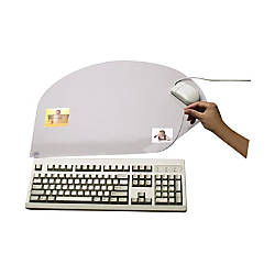 Artistic Second Sight Hinged Srs Desk Protector Rectangle