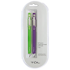 TUL Mechanical Pencils 07 mm LimePurple