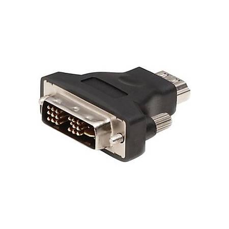 Belkin HDMI to DVI Single-Link Adapter - 1 x HDMI Male Digital Audio/Video - 1 x DVI-D (Single-Link) Female Digital Video