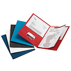 Office Depot Brand Twin Pocket Portfolios