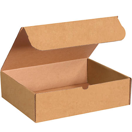"Office Depot® Brand Literature Mailers, 14 1/4"" x 11 1/4"" x 4"", Kraft, Pack Of 50"