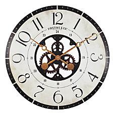 FirsTime Co Carlisle Gears Wall Clock
