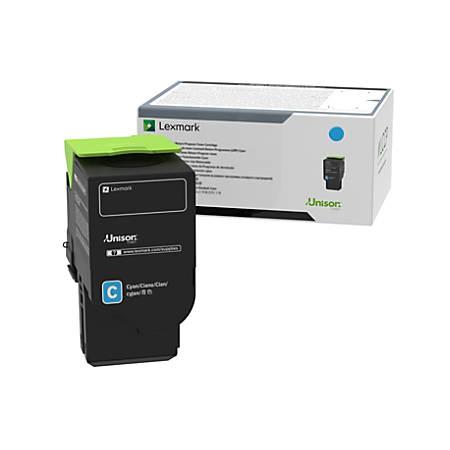 Lexmark™ C240X20 Extra High-Yield Return Program Cyan Toner Cartridge