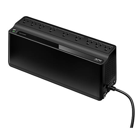 APC Back-UPS BN900M Battery Backup, 9 Outlet, 900VA/480W