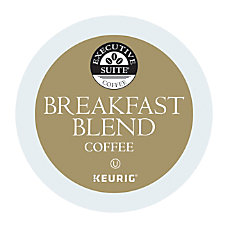 Executive Suite Breakfast Blend Coffee Keurig