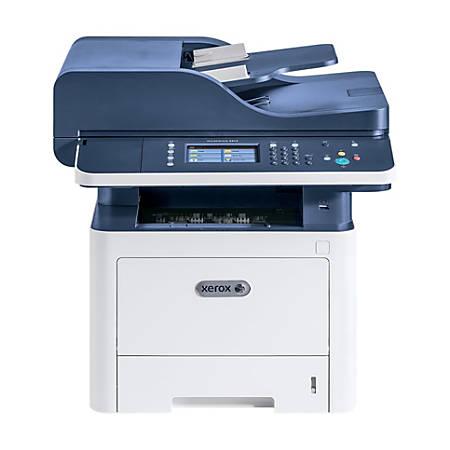 Xerox® WorkCentre Monochrome Laser All-In-One Printer, Copier, Scanner, Fax,  3345/DNI