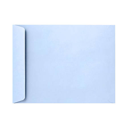 """LUX Open-End Envelopes With Peel & Press Closure, 6"""" x 9"""", Baby Blue, Pack Of 1,000"""