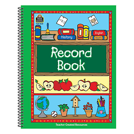 Teacher Created Resources Green Border Record Books, Pack Of 5
