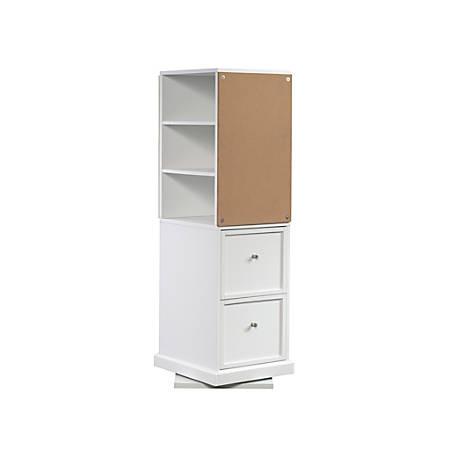 Sauder® Craft Pro Series Craft Tower, 2 Adjustable Shelves, White