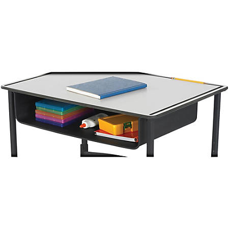 Safco® Book Box For AlphaBetter® Adjustable-Height Stand-Up Desk, Black