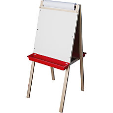 Flipside Paper Roll Childs Easel BlackWhite