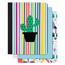 Divoga Composition Notebook Parrot Jungle Collection