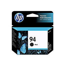 HP 94 Black Ink Cartridge With