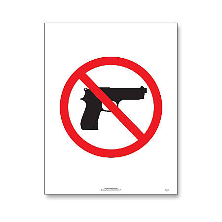 """ComplyRight State Weapons Law 1-Year Poster Service, English, Kansas, 8 1/2"""" x 11"""""""