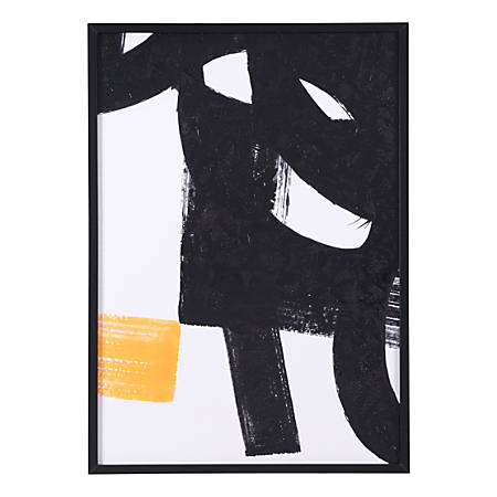 Zuo Modern Sintesis Canvas, Black/White