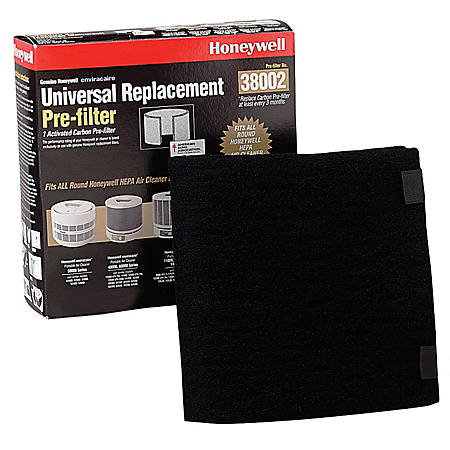 "Honeywell® Universal HEPA Carbon Replacement Pre-Filter, 8 3/8"" x 8 1/4"" x 2 3/4"""