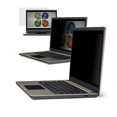 """3M™ Privacy Filter Screen for Laptops, 12.1"""" Widescreen (16:10), PF121W1B"""