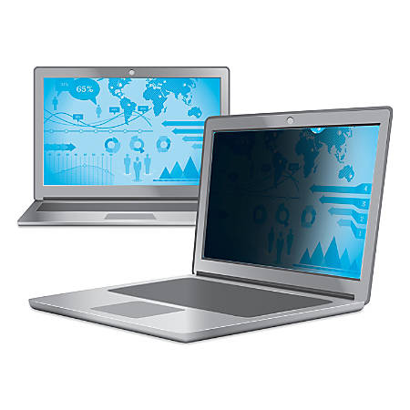 """3M™ Privacy Filter Screen for Laptops, 17"""" Widescreen (16:10), PF17"""