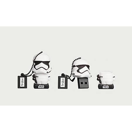 Tribe Star Wars USB 2.0 Flash Drive, 16GB, Stormtrooper, FD030513