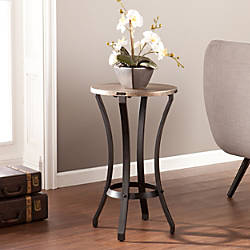 Southern Enterprises Libson Accent Table Round