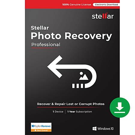 Stellar Photo Recovery Professional Windows