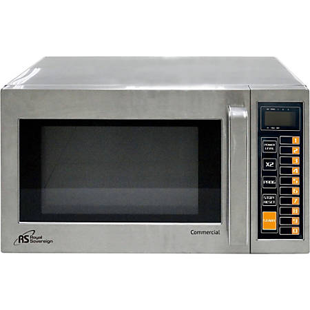 Royal Sovereign 0.9 Cu Ft Commercial Microwave, Stainless Steel