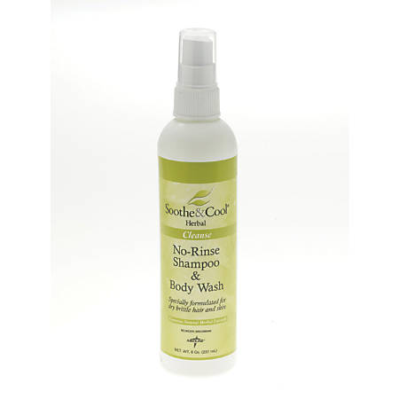 Soothe & Cool Herbal Shampoo And Body Wash Spray, 8 Oz, Case Of 12