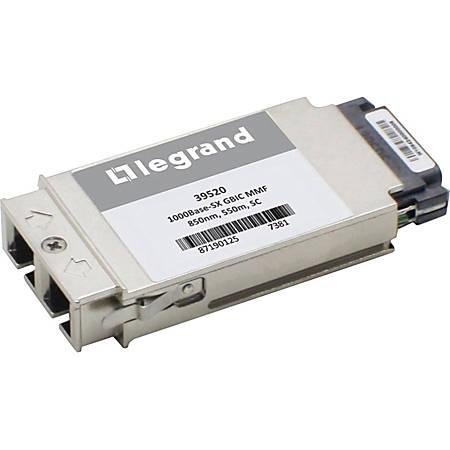 C2G Cisco WS-G5484 compatible 1000Base-SX GBIC Transceiver (MMF, 850nm,550m, SC)