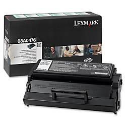 Lexmark 08A0476 Return Program Black Toner