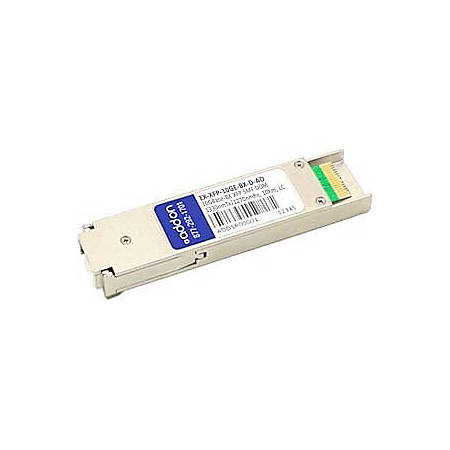 AddOn Juniper Networks Compatible TAA Compliant 10GBase-BX XFP Transceiver (SMF, 1330nmTx/1270nmRx, 10km, LC, DOM)
